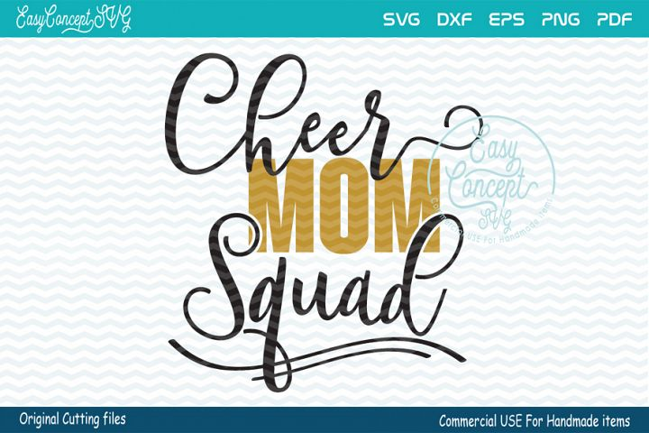 CHEER Mom squad svg