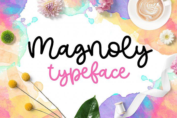 Magnoly Handwritten Font
