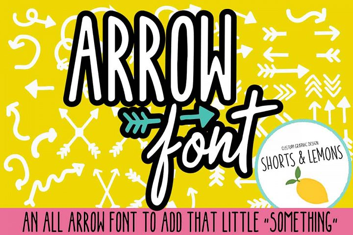 SUPER ARROW FONT