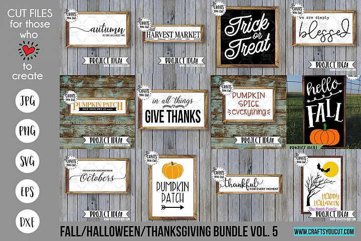 Fall/Halloween/Thanksgiving Vol. 5