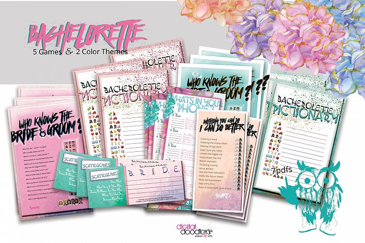 Bachelorette Game Package