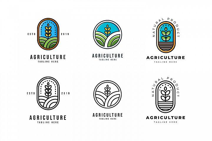 Agriculture Logo Set