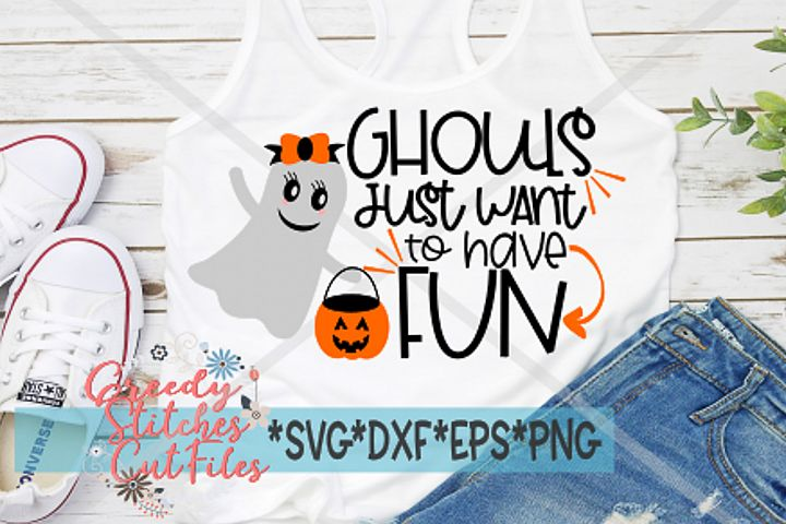 Ghouls Just Want To Have Fun SVG | Halloween SVG