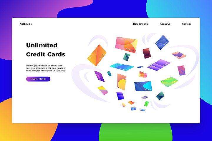 Credit Cards - Banner & Landing Page