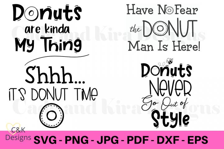 Donut Bundle SVG