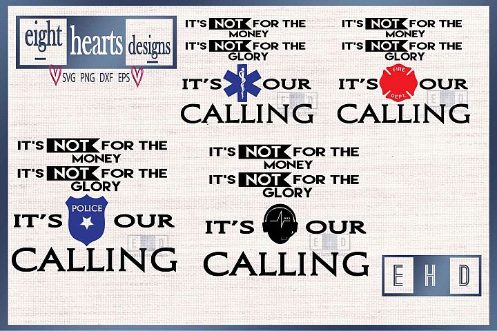 Its our Calling - EMS - SVG PNG DXF EPS - Cutting File