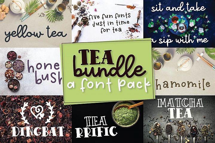 Tea Bundle - A Fun Font Bundle with Varie-Tea!!