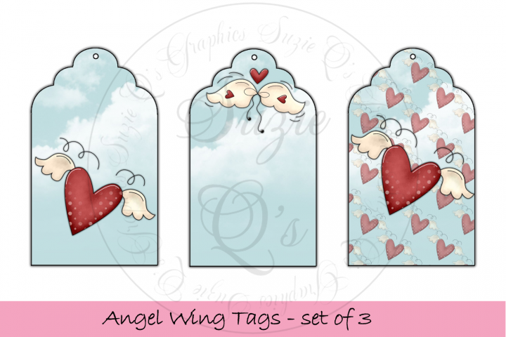 Angel Wing Tags