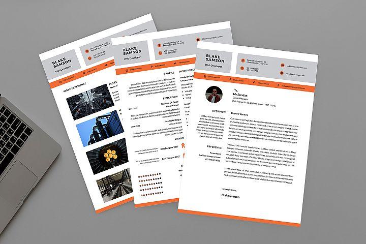 CV Half Resume Designer