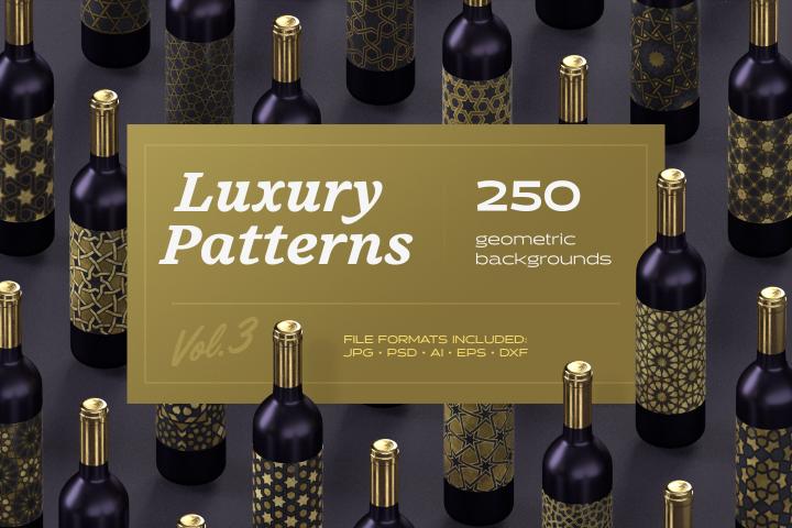 Luxury Patterns - 250 geometric backgrounds