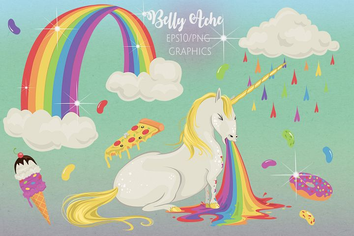 Unicorns Belly Ache   Vomiting