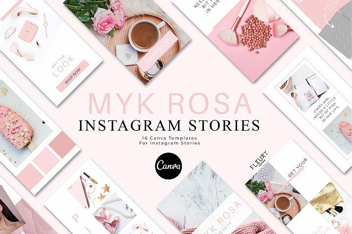 Instagram Story Canva Template - Myk Rosa