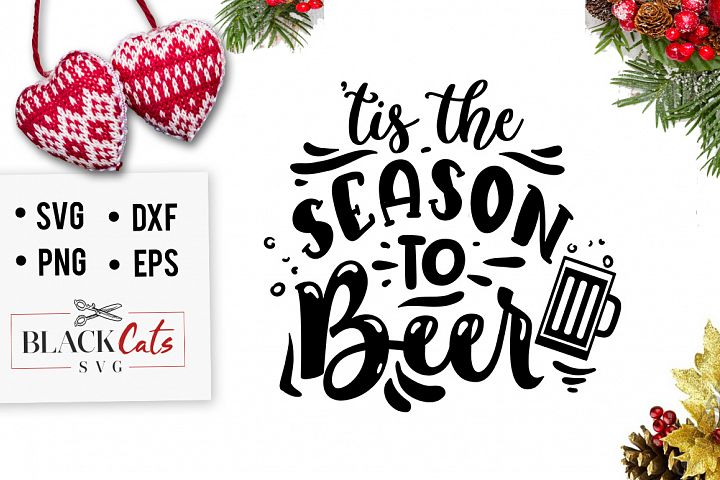 Tis the season to beer SVG
