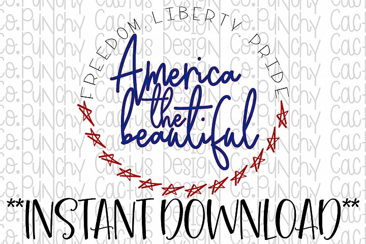 America the Beautiful Digital Download