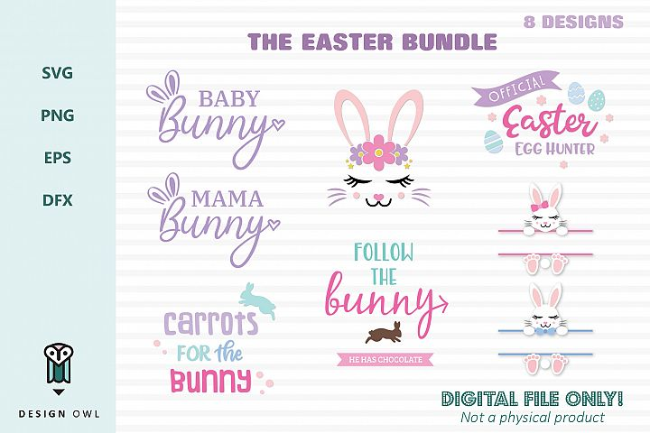The Easter Bundle - SVG cut file bundle