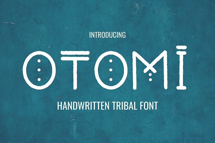 Otomi - Tribal Style Font