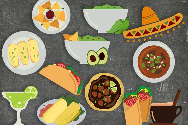 Mexican Food Clipart - Free Design of The Week Design4