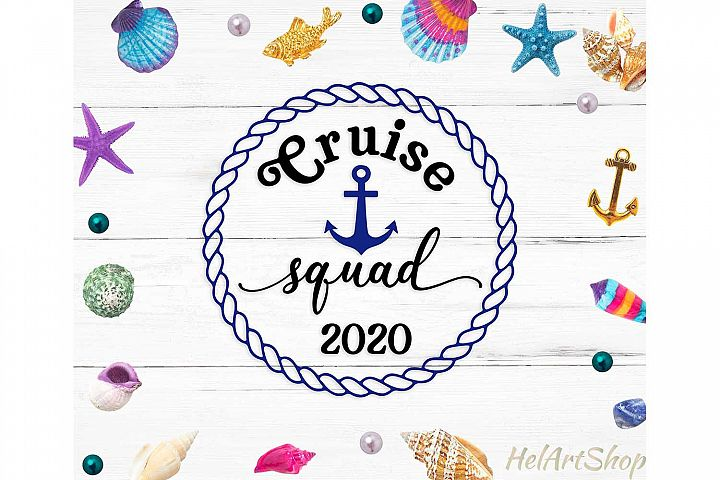 Cruise squad 2020 svg cutting file