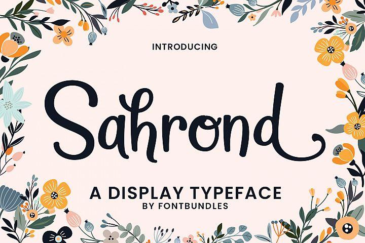 Sahrond