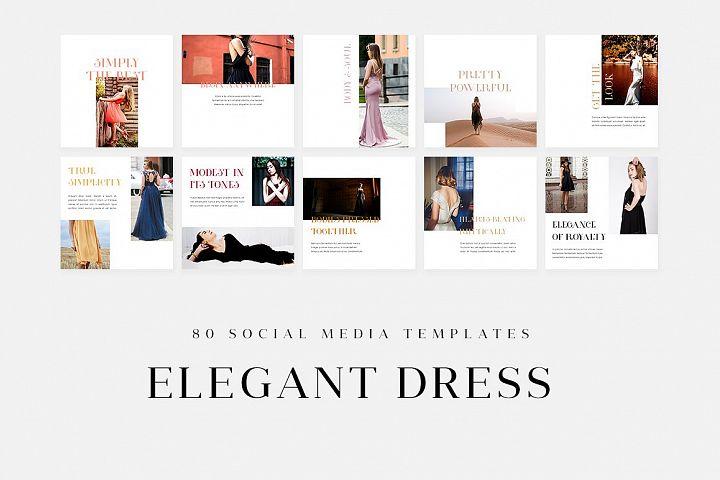 Elegant Dress - Social Media Templates