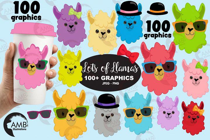 100 LLamas, 100 Alpacas! AMB-2100