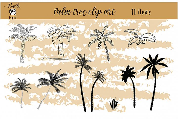 Tropical Exotic collection Palm tree