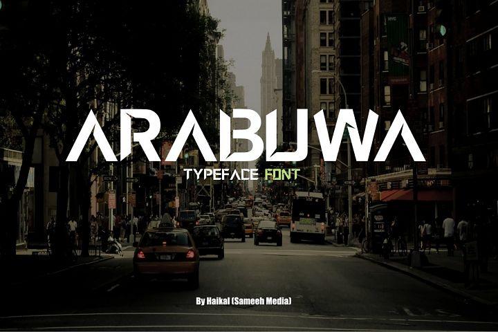 Arabuwa Typeface Font