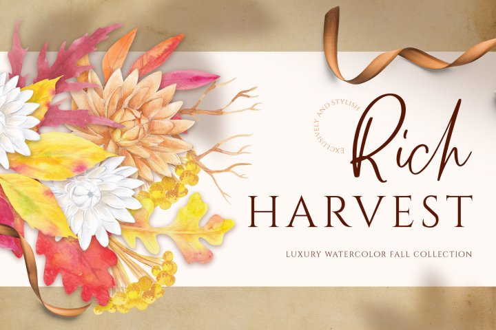 Rich Harvest - luxury fall collection Rich Harvest -lux