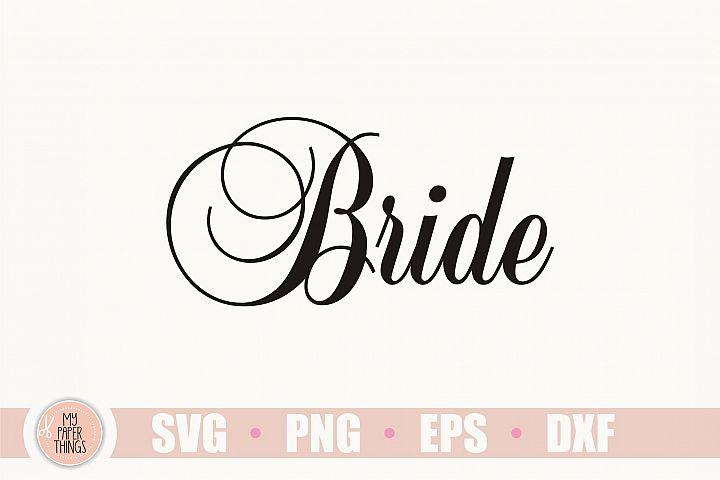 Bride svg, Wedding svg