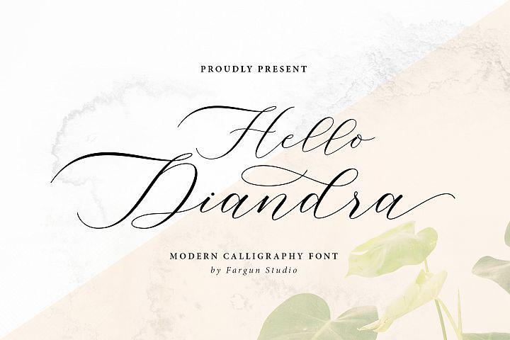 Hello Diandra