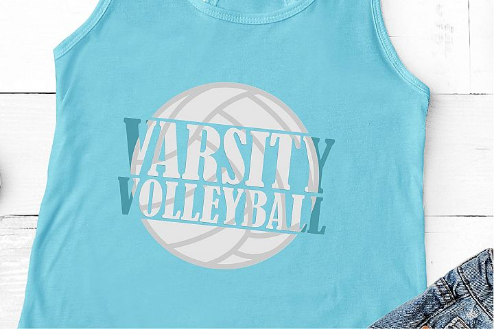 Varsity Volleyball SVG, Love At First Spike SVG, Sports