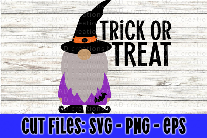 Halloween Gnome with Witches Hat and Shoes