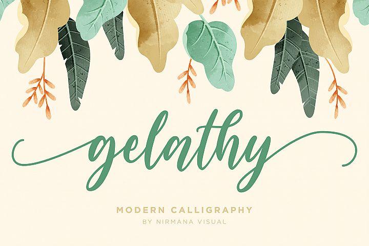 Gelathy - Modern Calligraphy