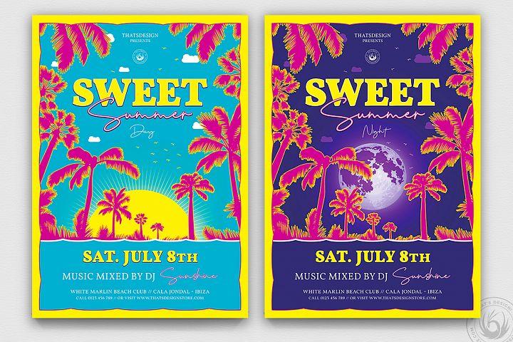 Sweet Summer Flyer Template