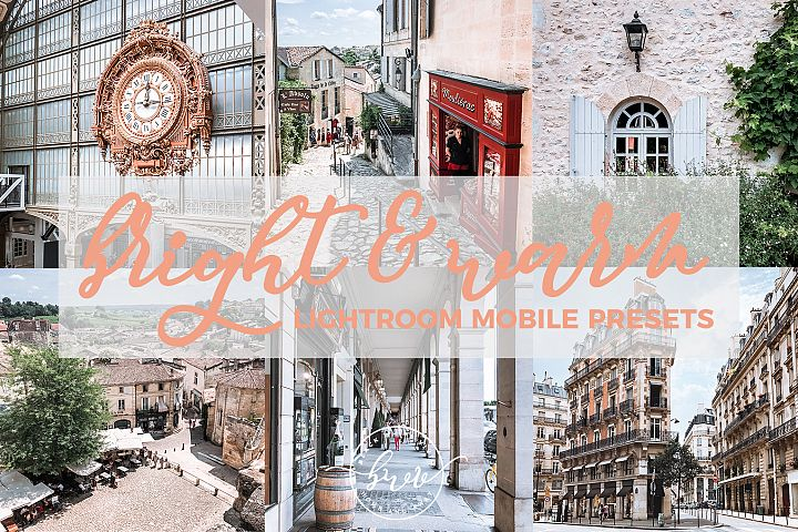 Bright & Warm Mobile Lightroom Presets