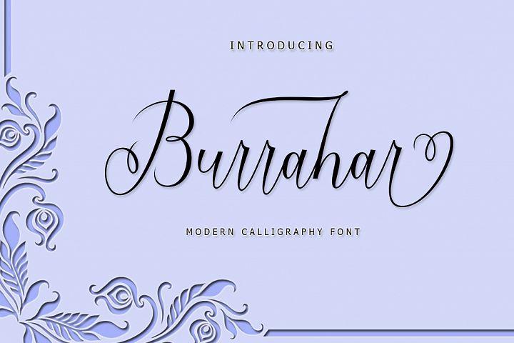 Burrahar Script