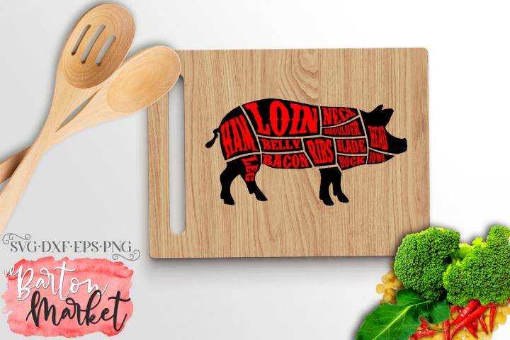 Pig Butcher SVG DXF EPS PNG