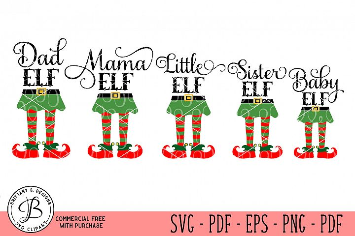 Elf Family SVG, Elf Family bundle svg, Elf bundle svg