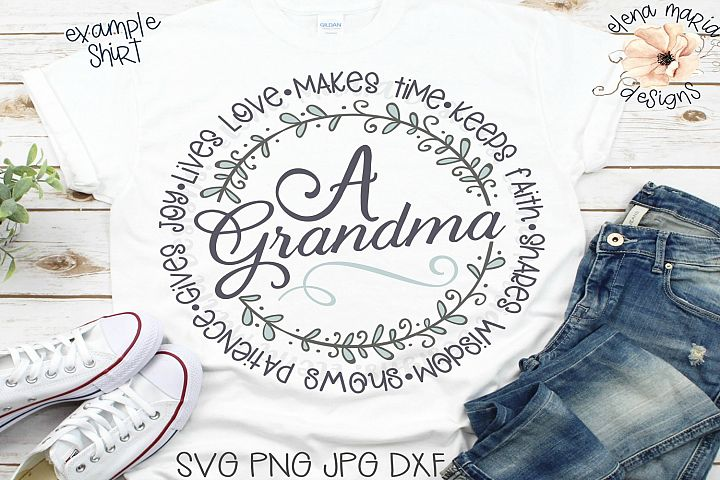 A Grandma Makes Time Keeps Faith Svg File