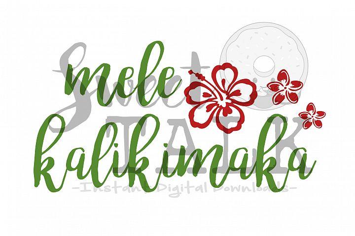Mele Kalikimaka-svg digital download