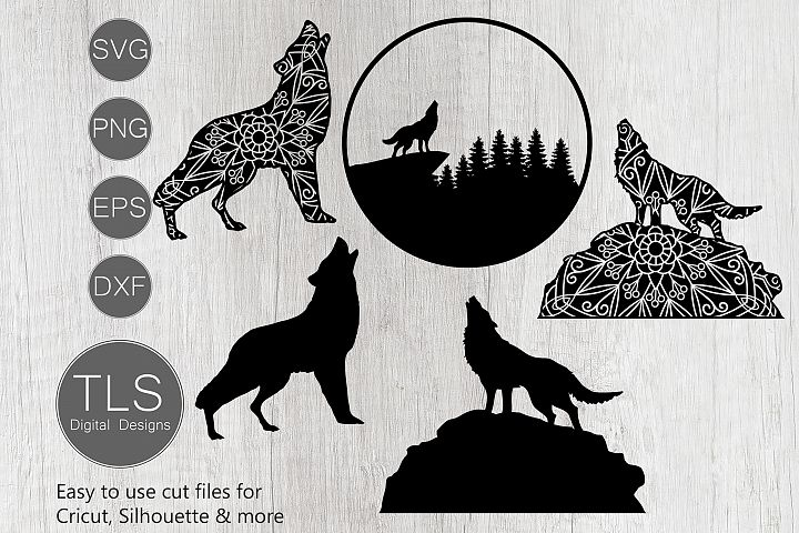 Wolf SVG