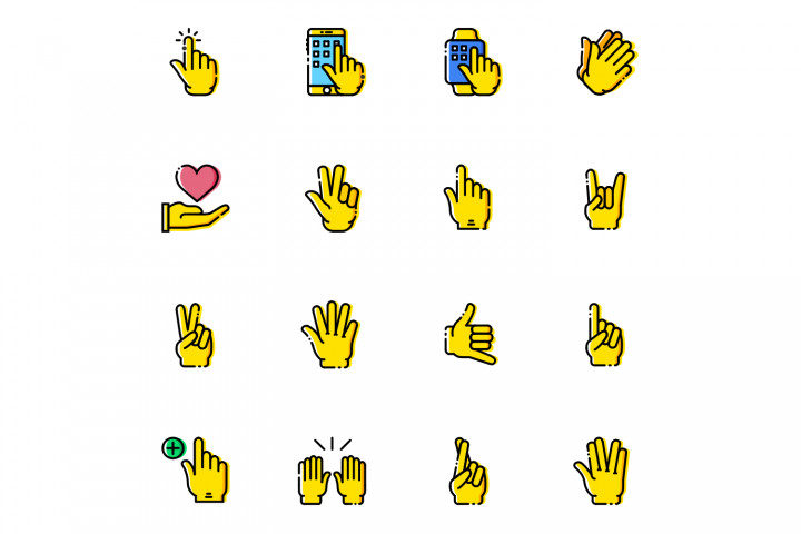 Gestures Icons