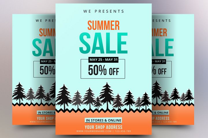 Summer Sale Offers Flyer