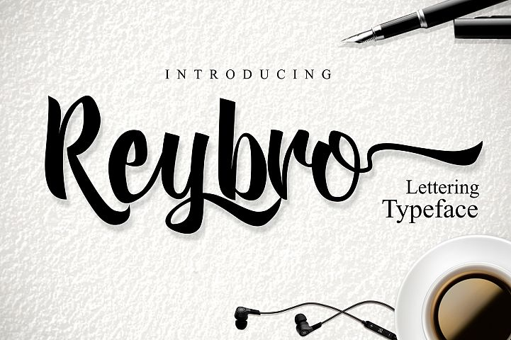 Reybro - Free Font of The Week Font