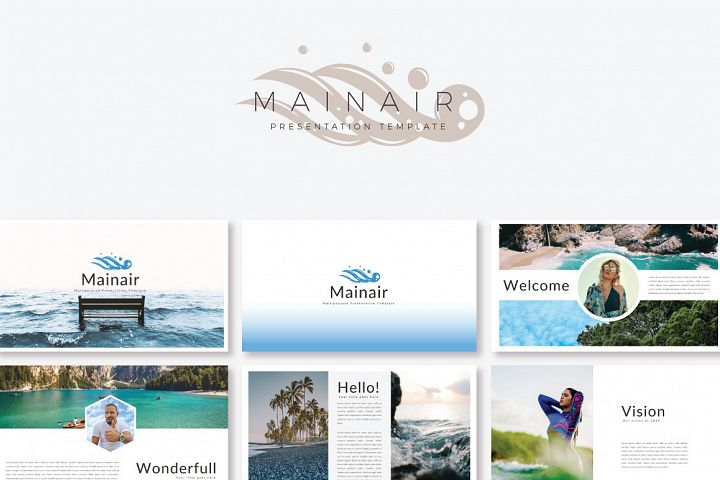Mainair Keynote Template