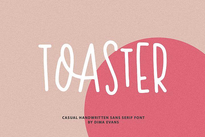 Toaster Sans