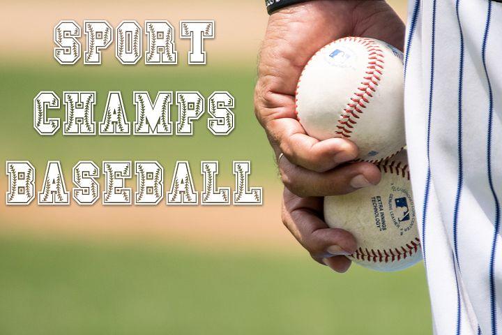 Sport Champs Baseball Font