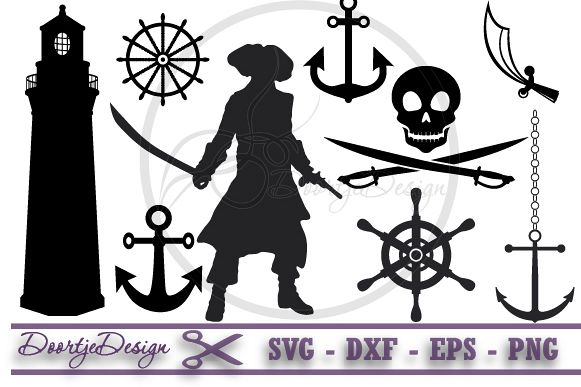 Pirates SVG