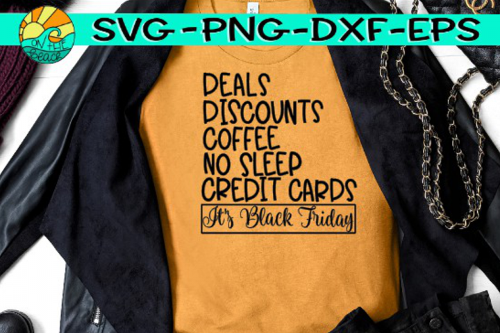 Deals - Discounts - Coffee - Black Friday - SVG PNG EPS DXF