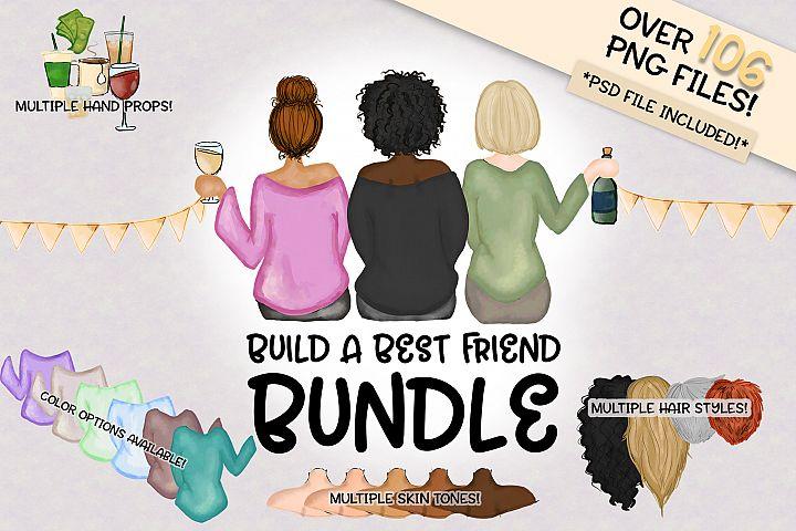 Build a Best Buds Bundle | Character Builder | Girl Version